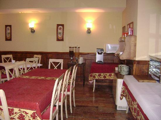 هوتل إيه بويرا: Hotel A Boira - Breakfast room