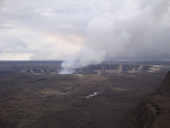 Hawaii Volcanoes National Park, HI: Kilauea Caldera