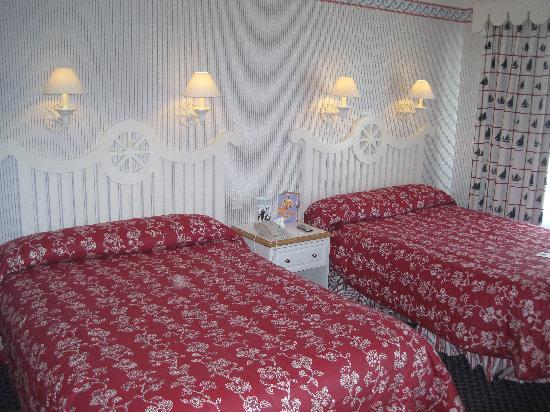 Disney's Newport Bay Club : La chambre très propre