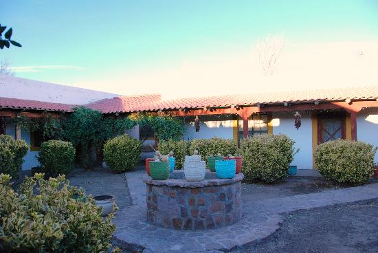 Casas Grandes, Mexico: inside courtyard
