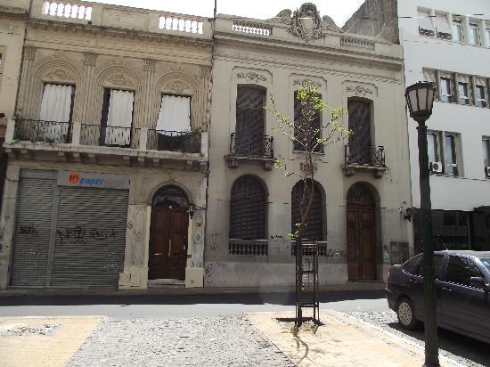 Posada de la Luna: Spot the guest house!