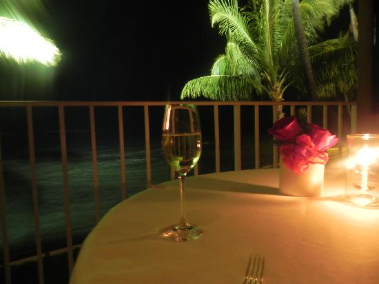 La Mer -  L'Aperitif: Our view from the table