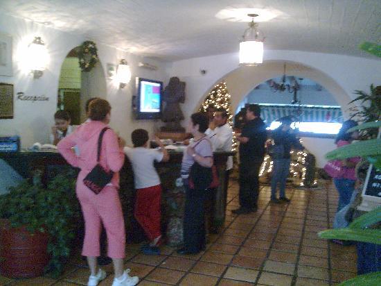 Mision Grand Cuernavaca Hotel Recepciòn