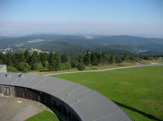 Falkenhof Grosser Feldberg: Blick vom Feldbergturm