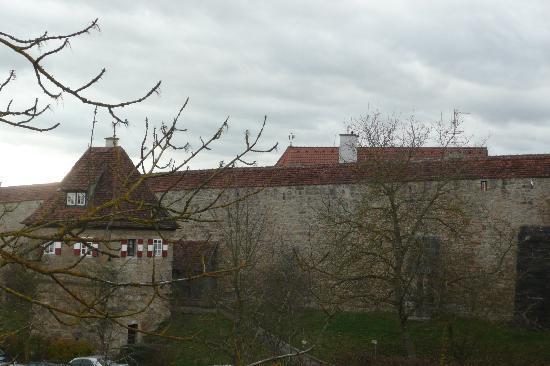 Hotel-Garni Hornburg: View from our window