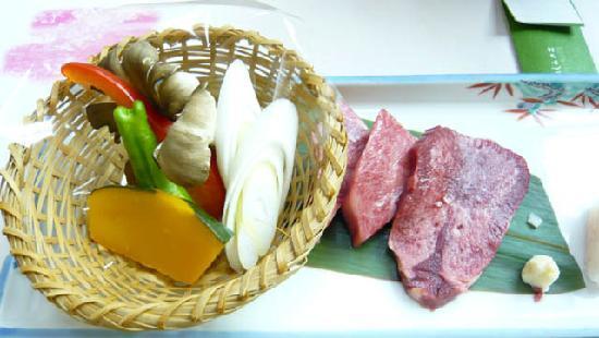 KKR Gero Shirasagi: 料理