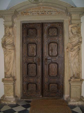 Augustiner Chorherrenstift Vorau: Vorau, Eingang zur Bibliothek