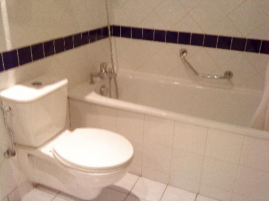 Pavillon Italie: Bath tube.