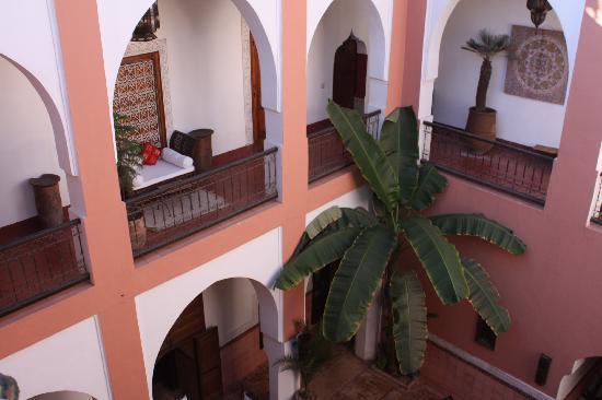 Riad Barroko: patio riad Barokko