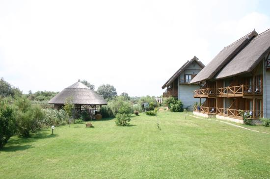 Sfantu Gheorghe, Romania: die hotelanlange greenvillage