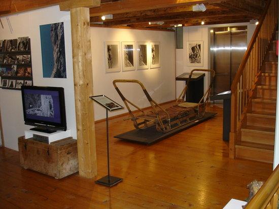 Museum Appenzell : Sonderausstellung Bergrettung
