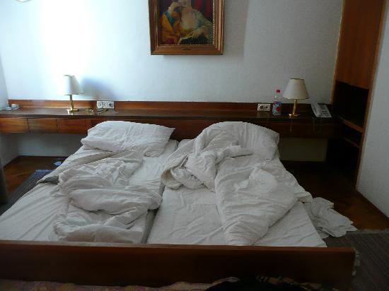 Hotel Terminus: bed
