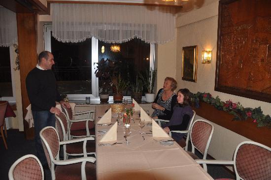 Hotel Gonzlay: restaurant de l'hotel