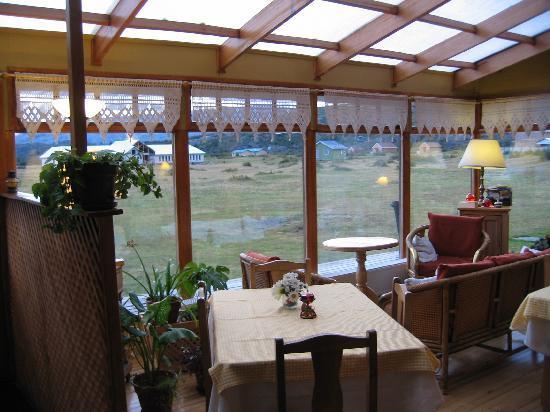Hosteria Lago del Toro: La salle à manger