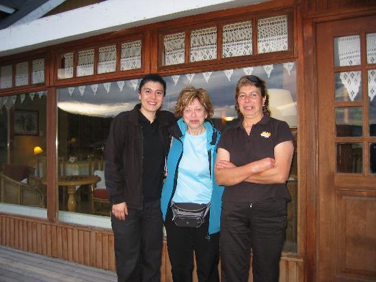 Hosteria Lago del Toro: Au revoir à la propriétaire