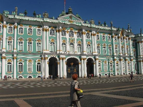 Piazza dvortsovaya foto di san pietroburgo russia nord - San pietroburgo russia luoghi di interesse ...