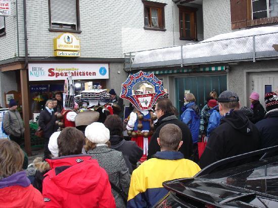 Urnaesch, Svizzera: Silvesterchlausen in Urnäsch