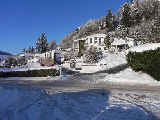 Arklow, Irland: Snowy, Irish Christmas at the Woodenbridge