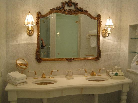 The Plaza: Double sink - perfect for two girls!