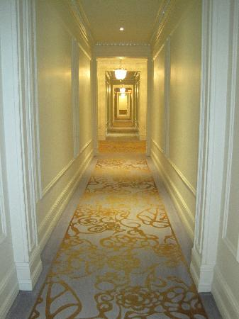 The Plaza: Corridor