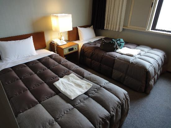 Plaza Hotel Tenjin: ベッド