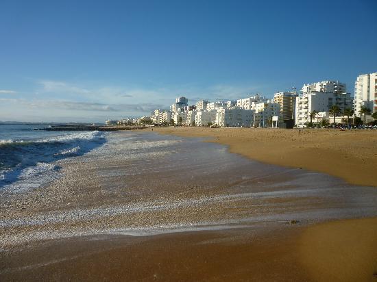 Hotel Praia Sol: Quarteira beach