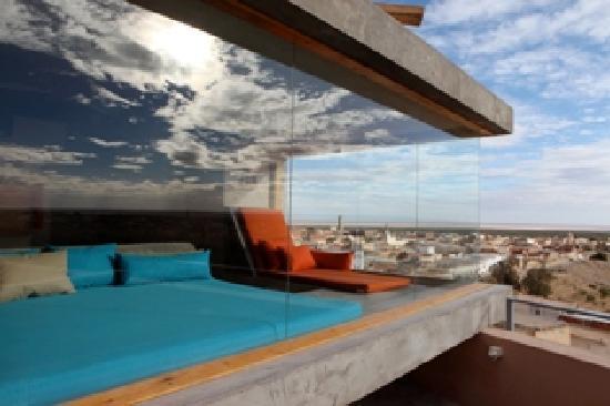 Nefta, Tunus: Vue du Piloti
