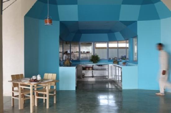 Nefta, Tunus: Restaurant