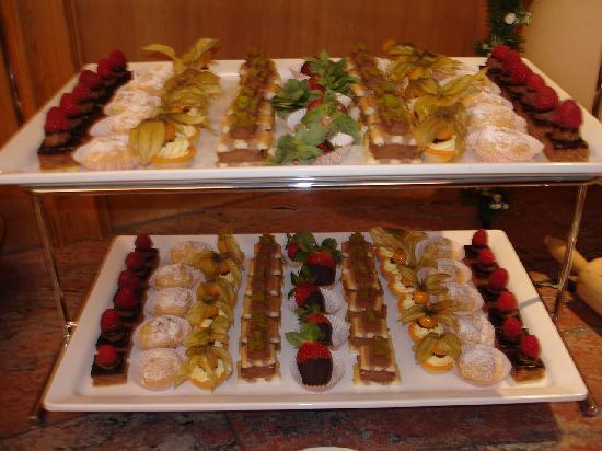 Schruns, Østrig: Dessertbuffet 2010