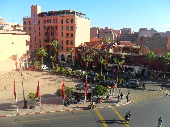 Amalay Hotel Marrakech : view from room 302 amalay hotel