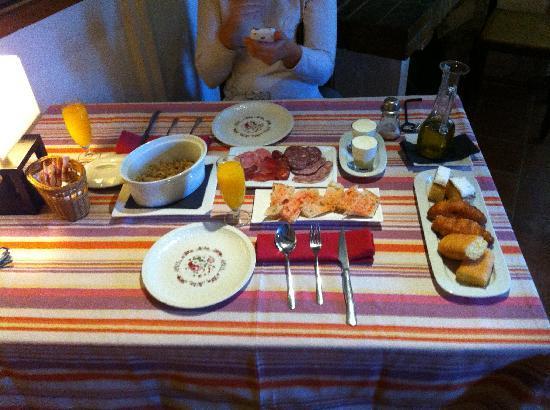 La Fornal Dels Ferrers: Desayuno