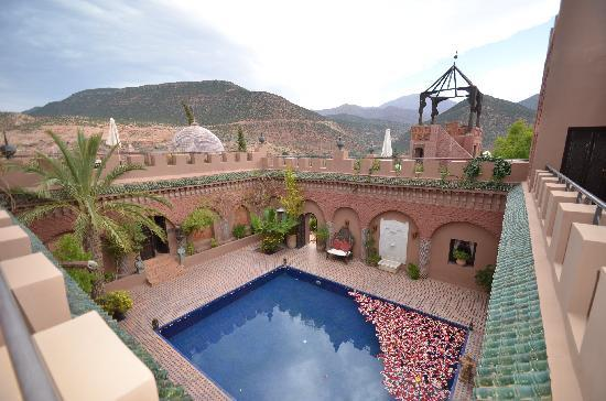 Kasbah Tamadot : A View From Upstairs
