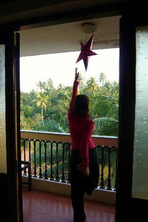 Betalbatim, Indien: balcony room 503