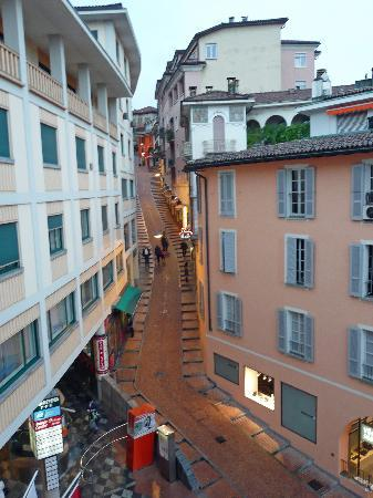 Lugano Dante Center Swiss Quality Hotel : View from Hotel Room