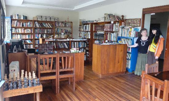 The Trude Sojka Cultural House : Library for visitors and researchers