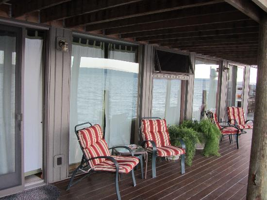 Nautical Nights: Back deck seats