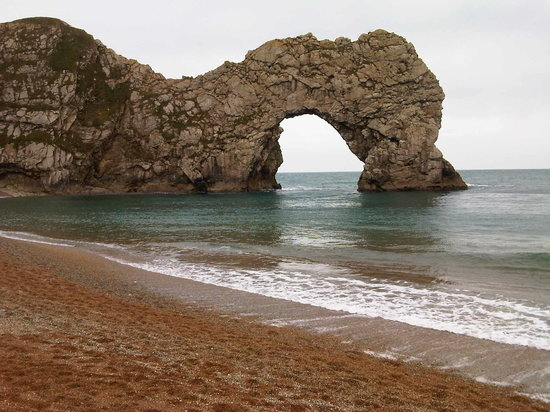 West Lulworth, UK: Durdle Door Felsbogen