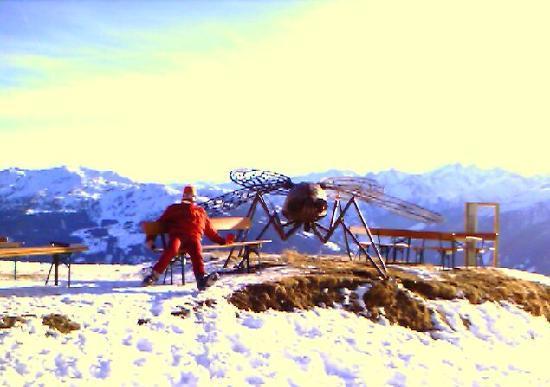 Kristallhuette: Kunst am Berg