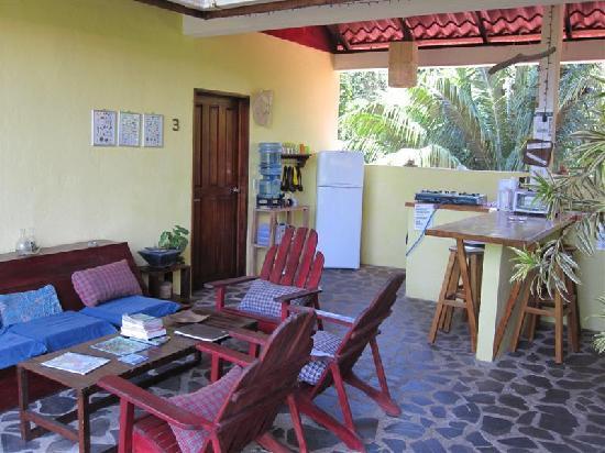 Casa Faya Lobi: Communal area