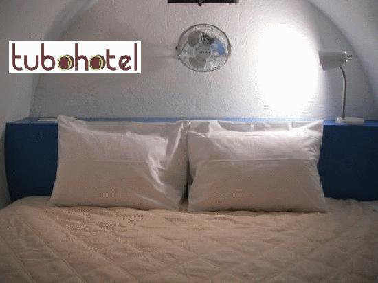 Tubohotel : Inside the tube it retains its temperature throughout the day and comfortable at night