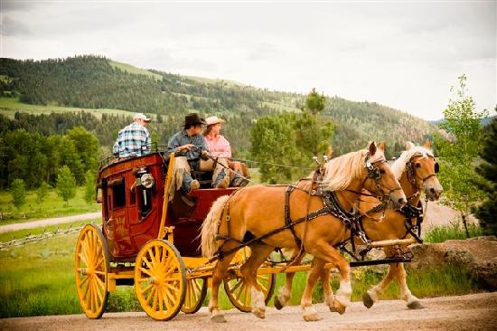 The Ranch at Rock Creek: Wells Fargo Carriage