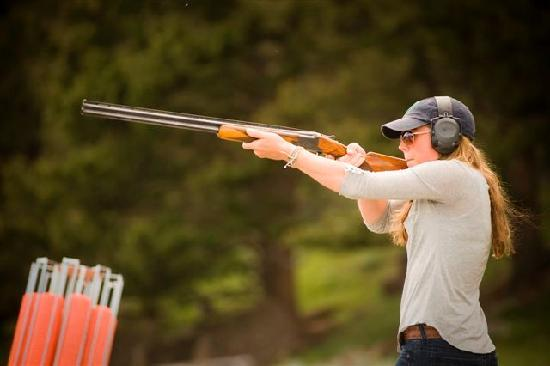 Philipsburg, MT: Clay Pigeon Shooting