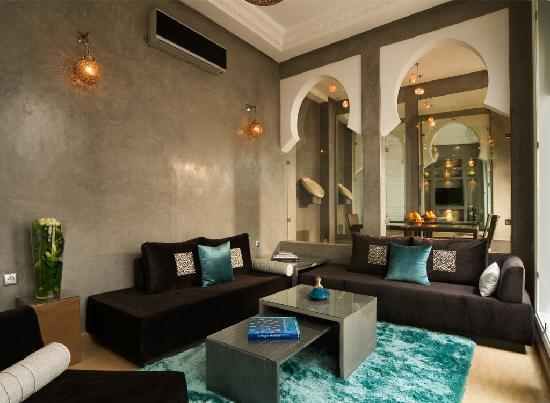 chic salon picture of riad chayma marrakech tripadvisor. Black Bedroom Furniture Sets. Home Design Ideas