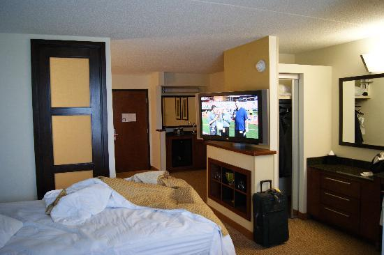 Hyatt Place Detroit/Livonia: Our spacious room at the Hyatt