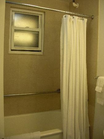 The Mosser: Window (to a vent shaft) in the shower