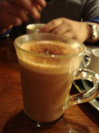 Raphael Restaurant: my hot choco drink