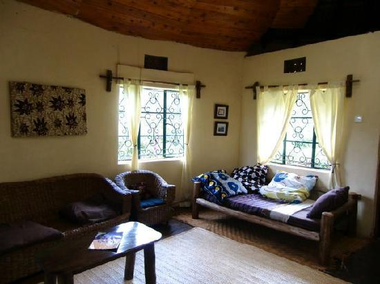 Sipi River Lodge: ロッジリビングルーム