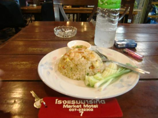 Market Motel: market fried rice