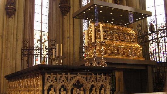 ケルン大聖堂 (ドーム), 東方三博士の『黄金の棺』