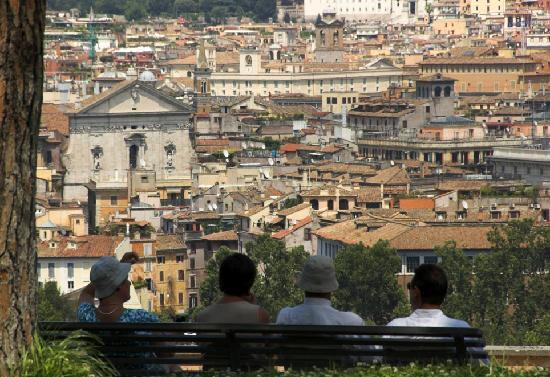 Gianicolo: Great view of Rome